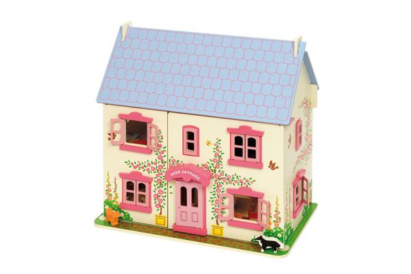 Bigjigs poppenhuis Rose Cottage.
