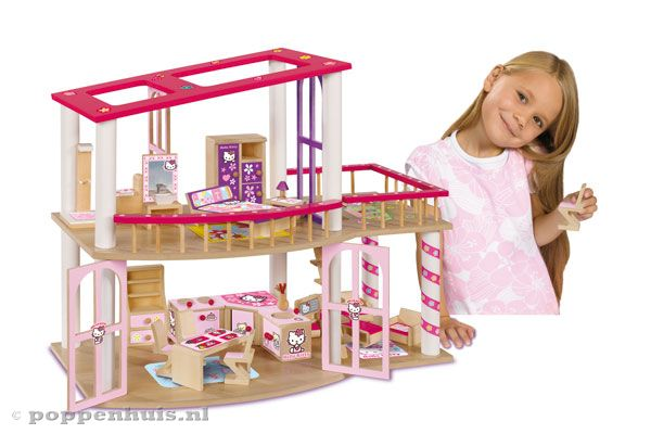 Hello Kitty Slaapkamer Meubels : Inclusief alle afgebeelde meubeltjes.