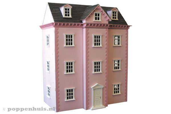 Home herenhuis for Groot poppenhuis