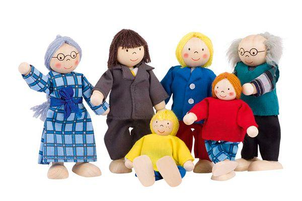 Goki poppenhuis poppetjes for Poppenhuis poppetjes