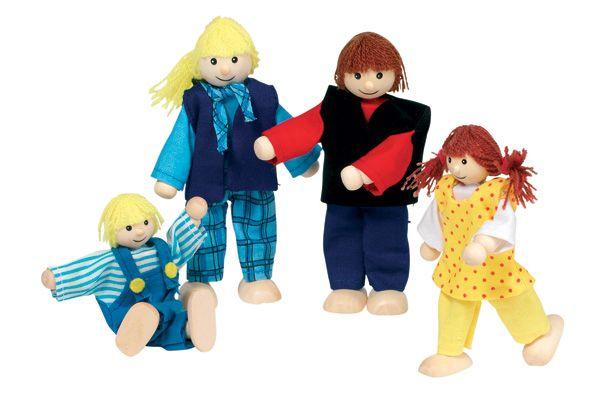 Goki young family poppetjes for Poppenhuis poppetjes