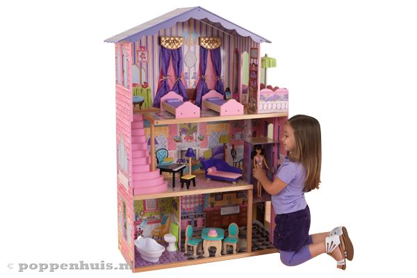 Kidkraft mijn droomvilla for Groot poppenhuis
