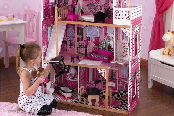 Kidkraft amelia for Poppenhuis voor barbie