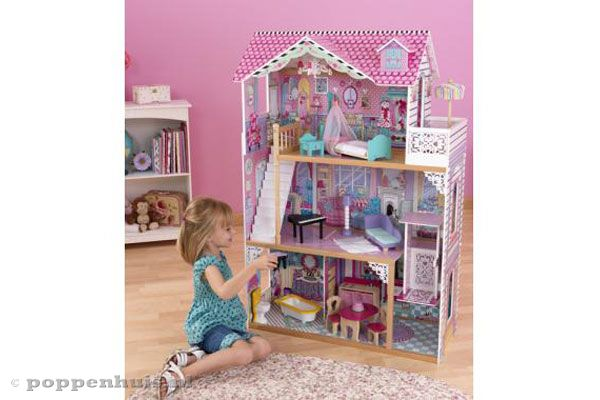 Kidkraft annabelle for Poppenhuis voor barbie