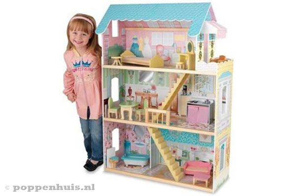Kidkraft georgia limited edition for Poppenhuis hout groot