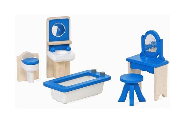 Badkamer Voor Poppenhuis : Mentari blauwe badkamer poppenhuis