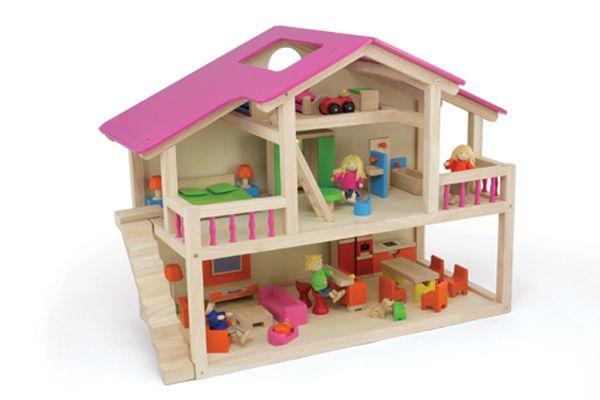 woodtoys houten poppenhuis ForPoppenhuis Kind 2 Jaar