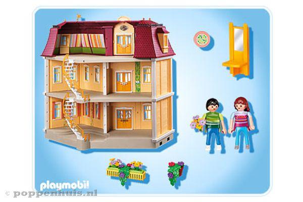 Ongebruikt Playmobil Groot woonhuis | Poppenhuis.nl XG-39