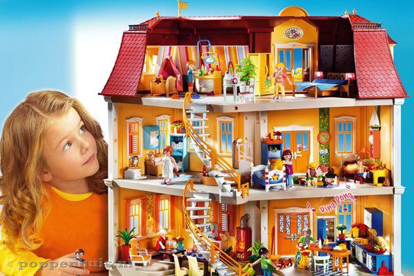 Playmobil Groot woonhuis | Poppenhuis.nl