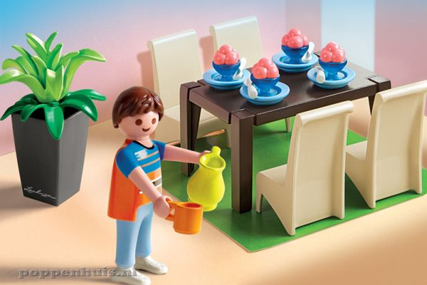 Home luxe eetkamer for Salle a manger playmobil 5335