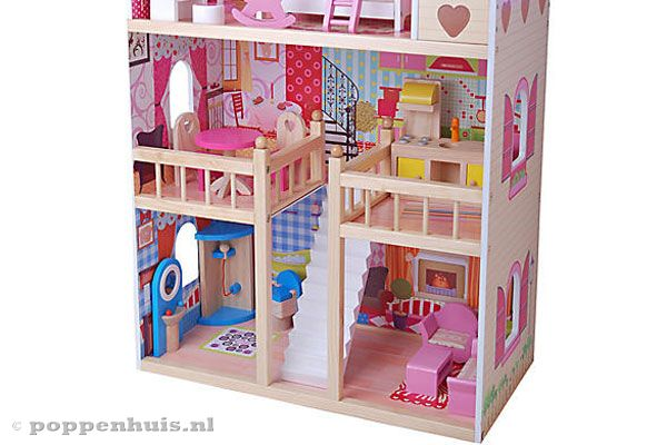 Bandits angels house of angels for Groot poppenhuis